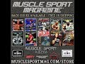 Back Issues Available - MuscleSport Mag