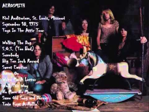 Aerosmith Live At Kiel Auditorium St Louis Mo 9 18 75