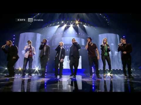 [DK X Factor 2011] Live show | The Final | Take That & X Factor Finalists 2011 - The Flood