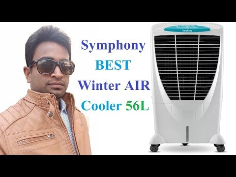 BEST Symphony Winter Air Room Cooler 56L PRICE, Review (HINDI) || Inverter Cooler 2018