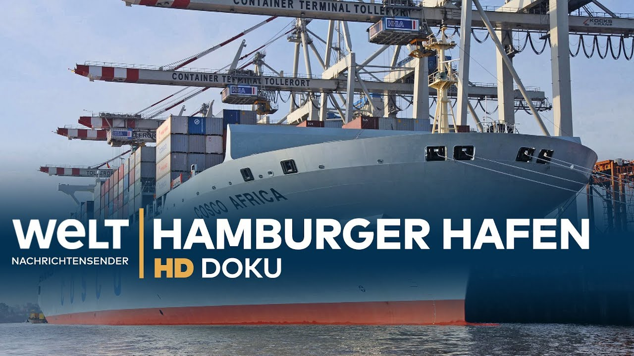 Download HAMBURGER HAFEN - Deutschlands Tor zur Welt | HD Doku