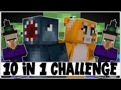 10 IN 1 CHALLENGE! - THE BATTLE! [4] - Minecraft Custom Map W/Stampy!