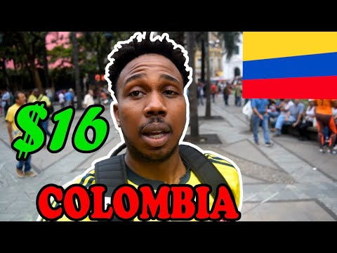 $16 in Medellin Colombia Tour Guide