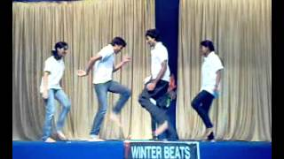 "Dance on  ""bhoot aya"" song on stage for school kids"