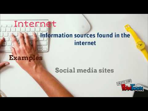 Media and Infomation Sources