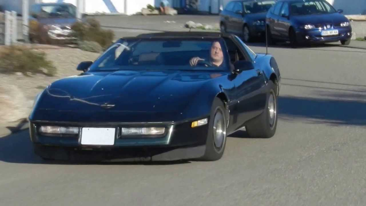 1985 Chevrolet Corvette C4 350 V8 Automatik Video I