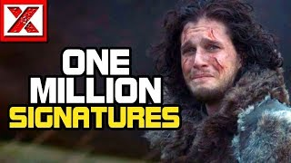 Petition to Remake Game of Thrones Season 8 Reaches ONE MILLION Signatures