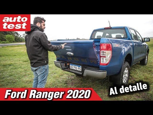 Retoques estéticos, ajustes en la suspensión y más equipamiento en la nueva Ranger XLS.