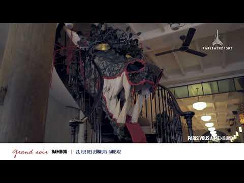 Paris vous aime Magazine : restaurant Bambou, son nouveau bar à cocktails aux notes thaïlandaises