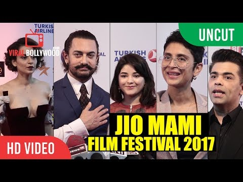 UNCUT - Jio Mami Film Festival 2017 Opening Ceremony | Aamir