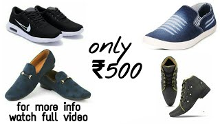 Branded shoes only ₹500 Brande…