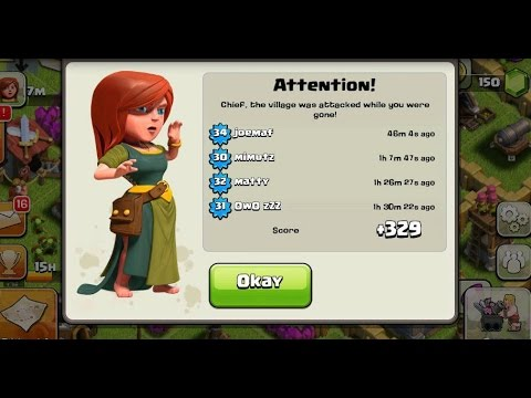 Clash of Clans: best Th8 trophy base: dark spell factory air sweeper update