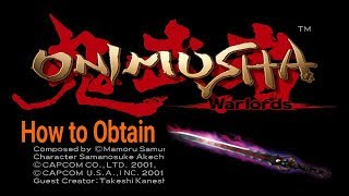 ONIMUSHA : Warlords  -= Bishamon Sword + Dark Realm  =-  (PS2-PS3)
