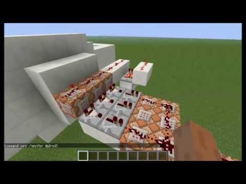 Redstone!!! Command blockos teleport kapu