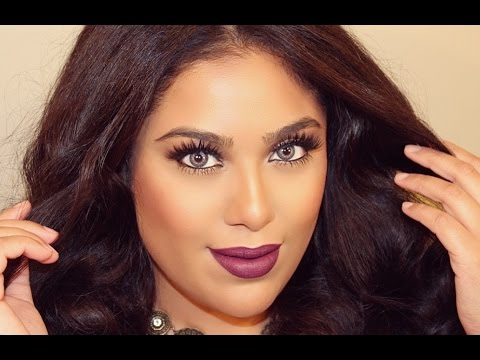 GLAM PARTY U0026 NIGHT OUT MAKEUP TUTORIAL - YouTube