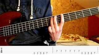 Franz Ferdinand - Love Illumination (Bass Tutorial with TABS)