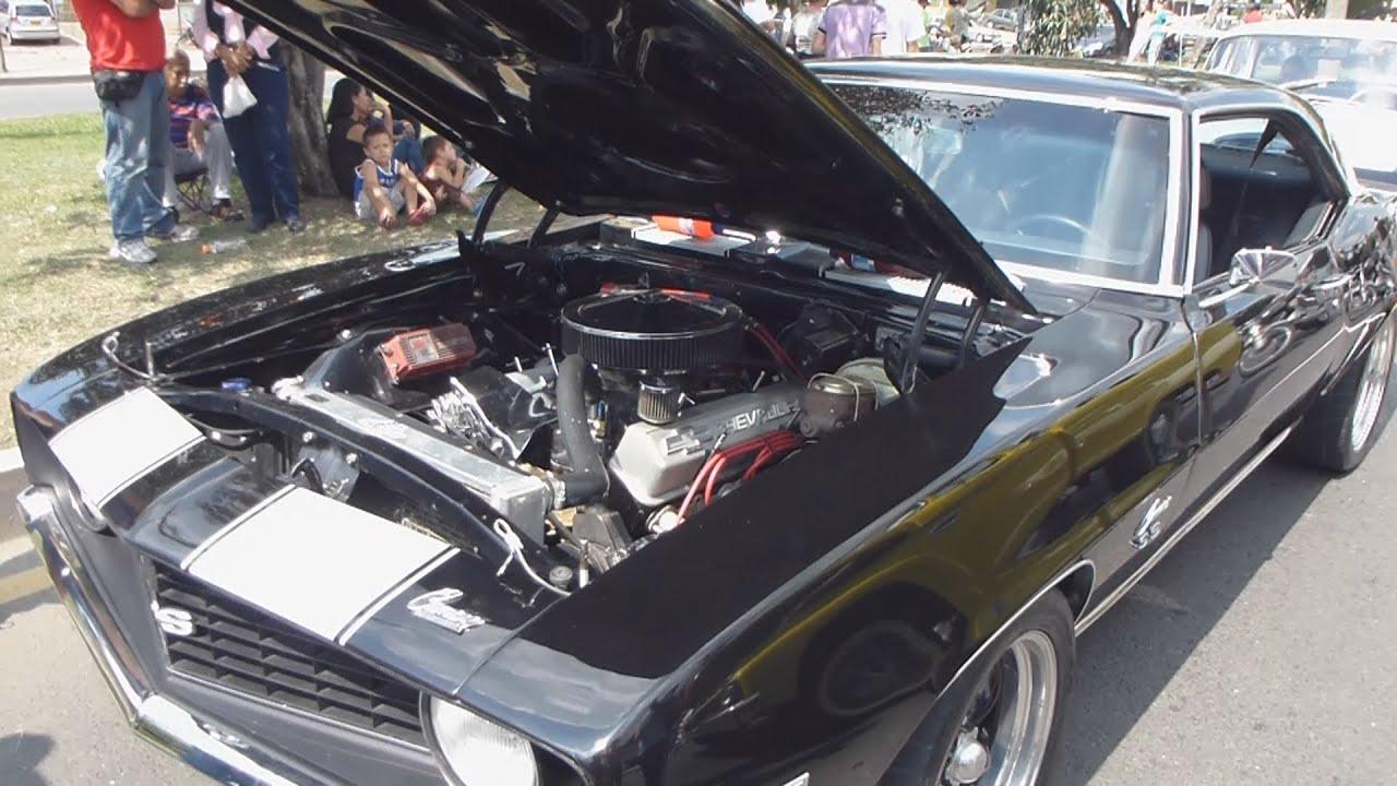 Chevrolet Camaro Ss 350 1969 Autos Clasicos Antiguos Feria De Cali 2012 2013 Youtube