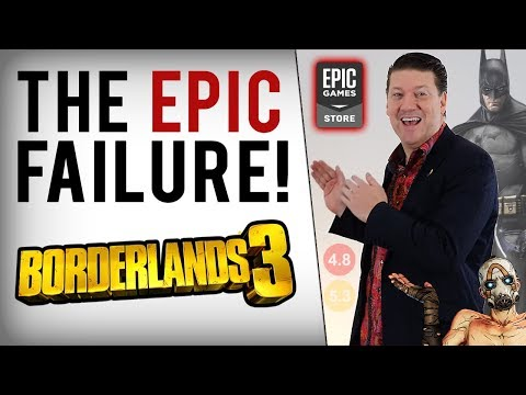 Epic Games Store Failed With Borderlands 3, Batman Next & Randy Pitchford's Support Aged Poorly