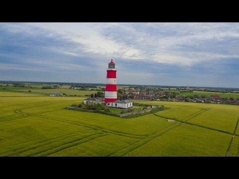 Happisburgh - Norfolk from above using DJI PHANTOM 3 STANDARD
