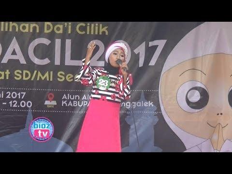 Ceramah Berbakti Pada Orang Tua, Dai Cilik, Naila Zakia Chadila, PILDACIL Trenggalek 2017 - bioz.tv