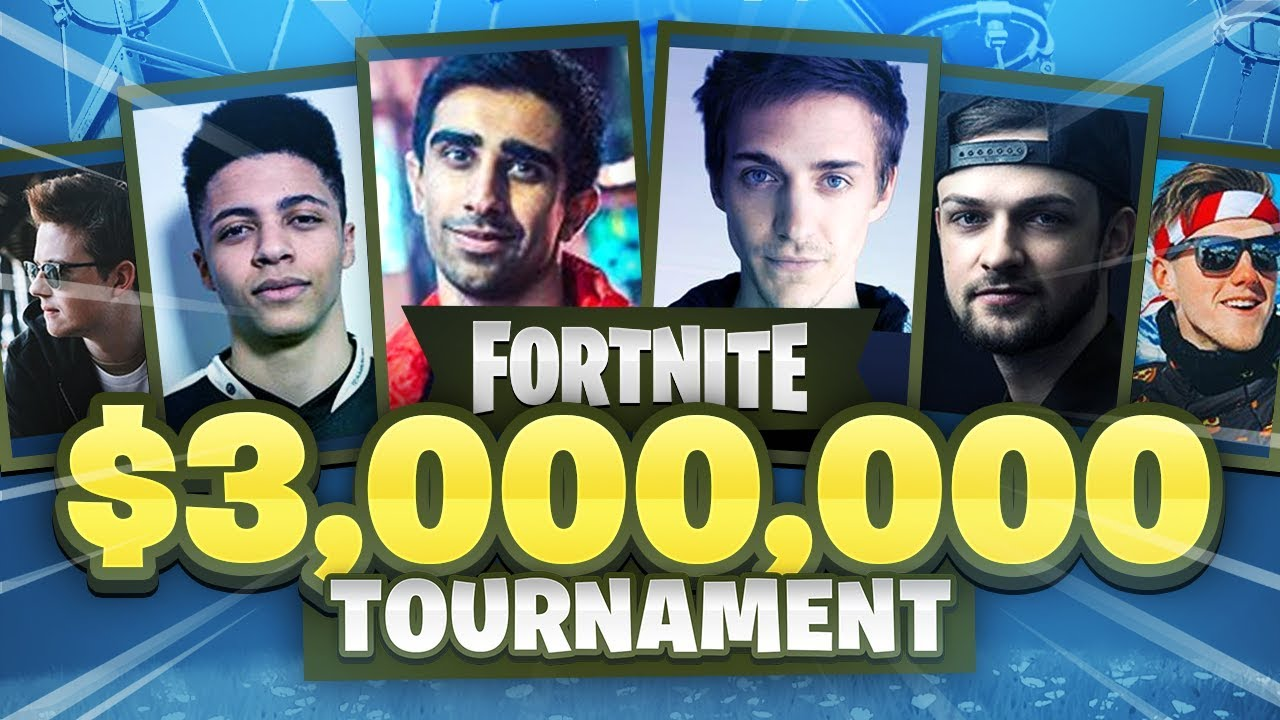 I'M PLAYING A $3,000,000 Fortnite Tournament ft Lachlan, Muselk, Ninja,  Ali-A & More!