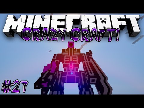 """Hunting Robots!"" - CRAZY CRAFT (MINECRAFT MODDED SURVIVAL) - #27"
