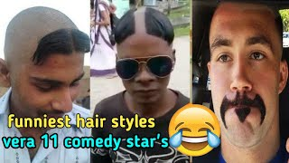 Comedy hair styles ever in tamil  worst la best uh  tamil  tubelight mind