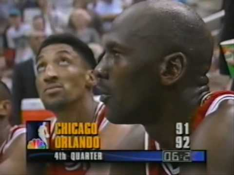 Bulls vs. Magic 1995 game 1 (10/...)