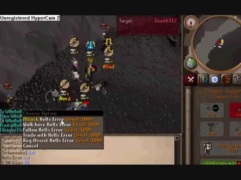 RUNESCAPE Best BH BOUNTY HUNTER VID!!! Y D0 U LUV  DDS RUSHING MID CRATER!!!!!