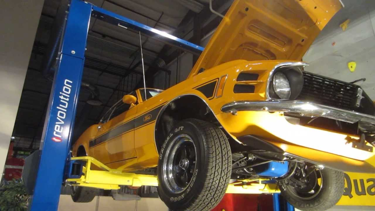 ***SOLD***1970 Mustang Mach 1 under carriage, Passing Lane ...