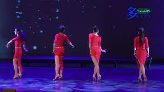 20180128, 萬錦春節晚會, Lady Dance