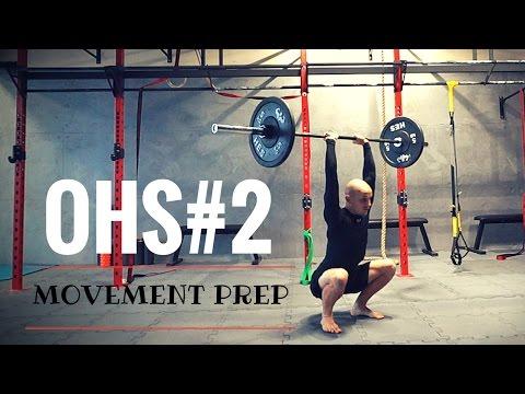 Przygotowanie do OHS #2 - Mobilizacja biodra - Trening CrossFit - Mobility Przysiad