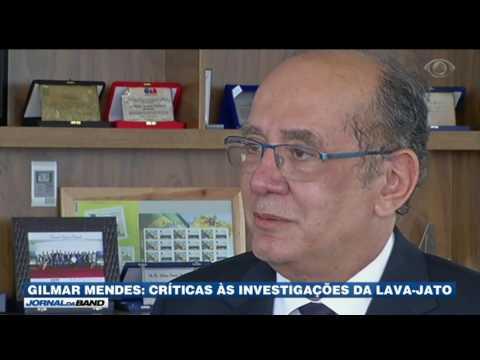 Gilmar Mendes critica investigações da Lava Jato