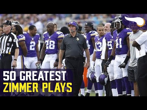 50 Greatest Plays of the Mike Zimmer Era