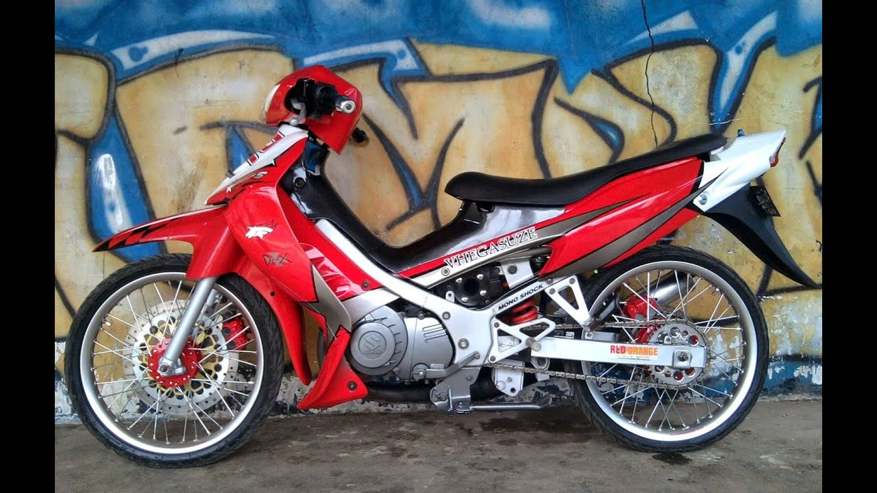 Motor Trend Modifikasi Video Modifikasi Motor Suzuki Satria 2 Tak
