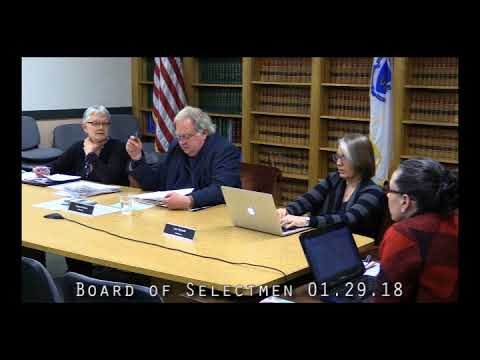 Board of Selectmen 01.29.18