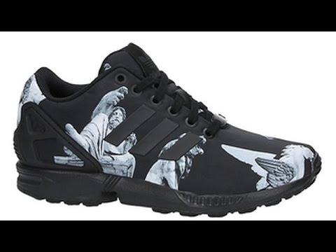 adidas zx flux zwart met witte strepen