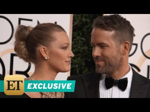 EXCLUSIVE: Ryan Reynolds and Blake Lively Win Best Couple at Golden Globes