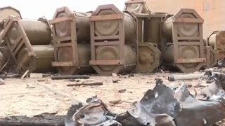 Russia: Don't Worry, Bombs On Shayrat Airbase Are Cluster, Not Chemical.