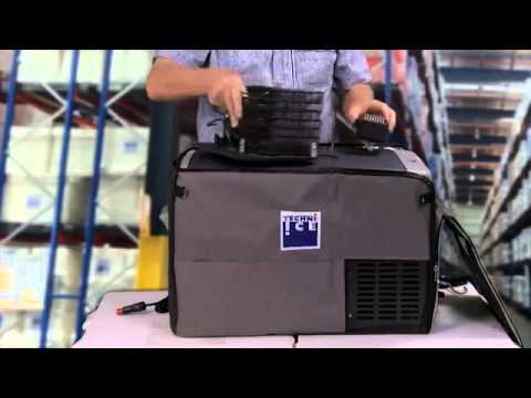 How To Use Techni Ice Portable Fridge Freezer Video?