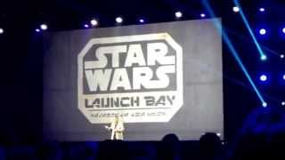 Star Wars Season of the Force Launch Bay Disneyland Space Mountain Hyperspace Mountain