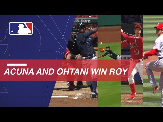 Acuña Jr., Ohtani win Rookie of the Year Awards