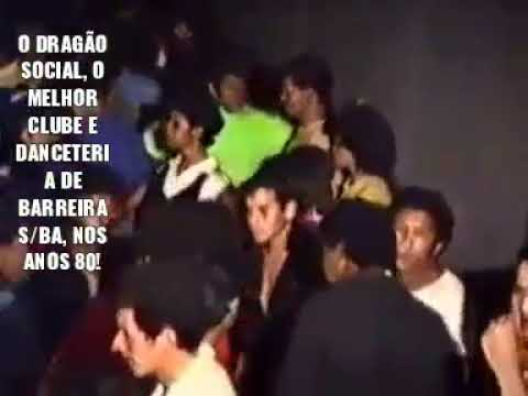 Clube Dragão social/Barreiras Ba Anos 80