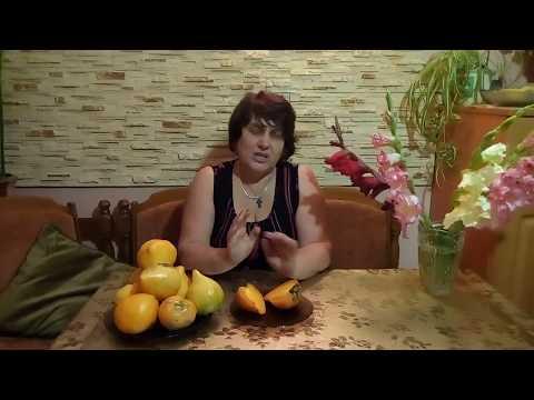 """Самый вкусный желтоплодный сорт томата—""""Оранжевая клубничка""""!!!"""