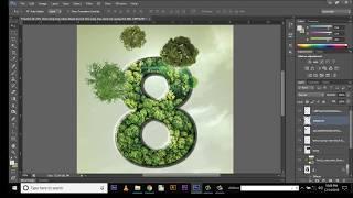 Flyer Design in Photoshop - photoshop tutorial in Urdu