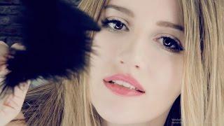ASMR - LOVELY scalp massage & face brushing with ♥LOVE♥ ...