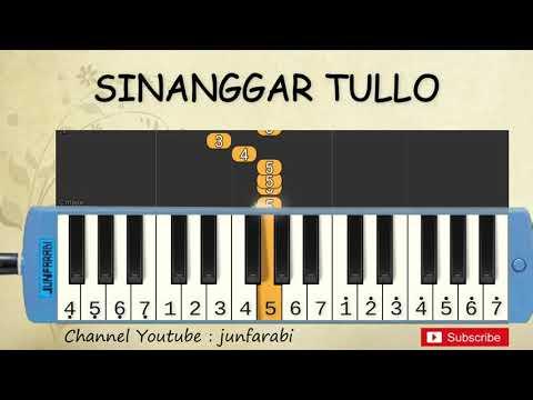 not pianika sinanggar tullo - lagu daerah - belajar pianika not angka sinanggar tulo