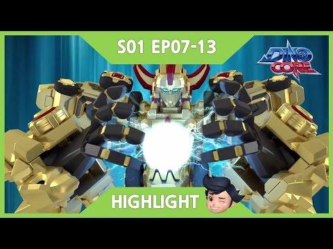 [DinoCore] Highlight Series | Rex vs. Darkno | 3D Dinosaur Animation | Season 1 EP07~13