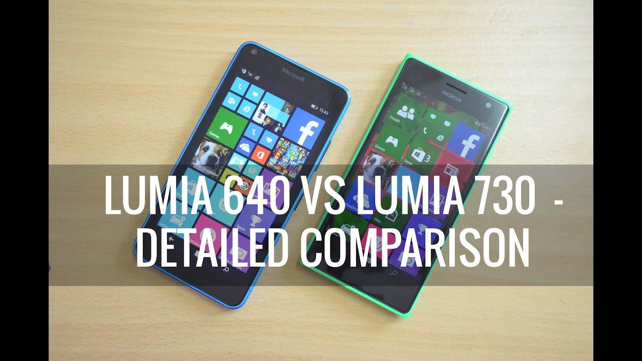 Samsung Galaxy J7 vs Nokia Lumia 730 | Video Quality Comparison .