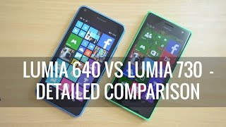 Lumia 640 vs Lumia 730- Which is better to Buy? | Techniqued